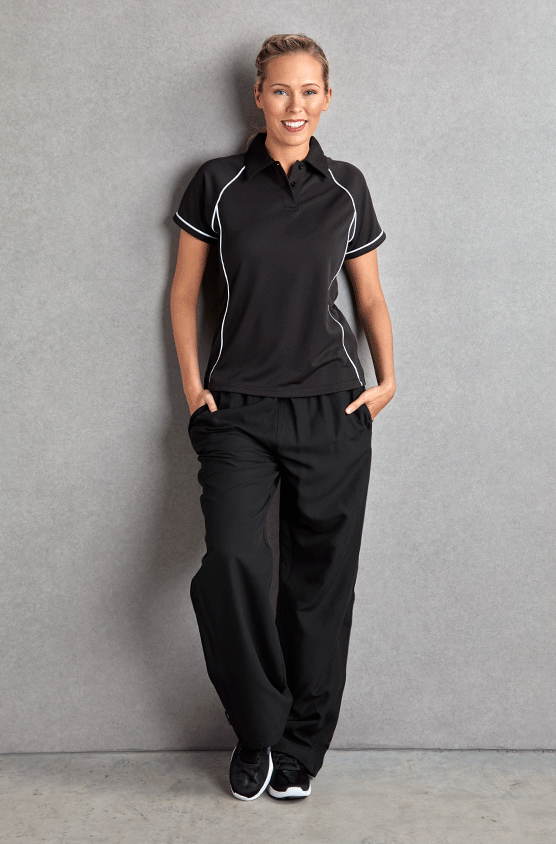 Ladies Piped Performance Polo Shirt