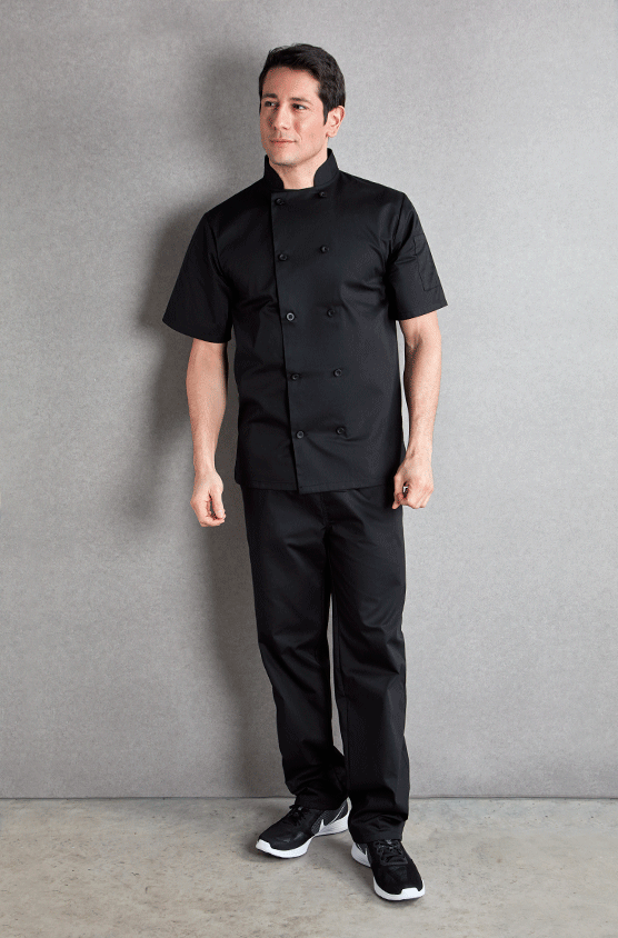 Gents Short Sleeved Chefs Jacket