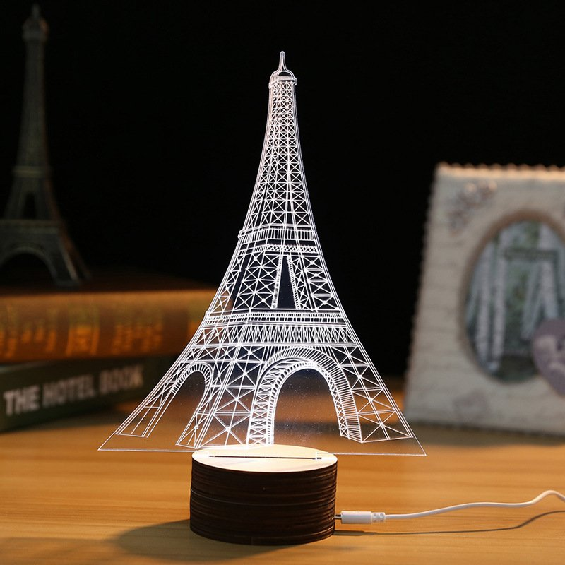 Eiffel Tower Optical LED - Lewis Luxury Furniture and Interior Design