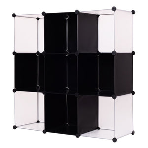 3 Tier 9 Cubic Bookcase Living Room - Lewis Luxury Furniture and Interior Design