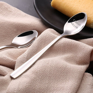 Personalized Stainless Steel Spoon