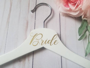 Personalized Bridal Hanger, Customized Bride