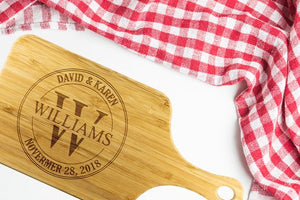 Custom Cutting Board Personalized Cutting Board - Lewis Luxury Furniture and Interior Design