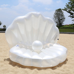 Giant Seashell Pool Float