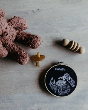 Custom Ultrasound Embroidery Hoop