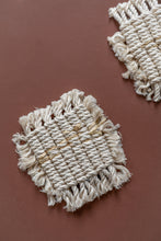 Load image into Gallery viewer, Macrame Jute Coasters