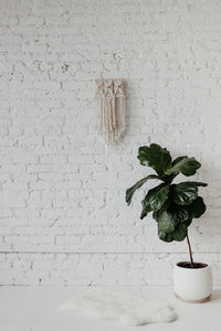 Rose Gold Macrame Wall Hanging