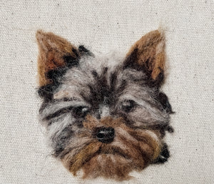Felt Pet Portrait