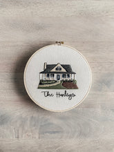 Load image into Gallery viewer, Custom Home Embroidery Hoop