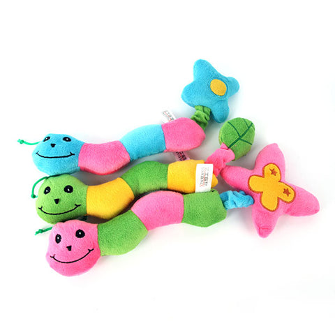 Cute Caterpillar Dog Toy - Posh Puppies Boutique