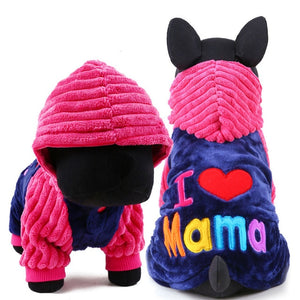I Love Mama/Papa Coats - Posh Puppies Boutique
