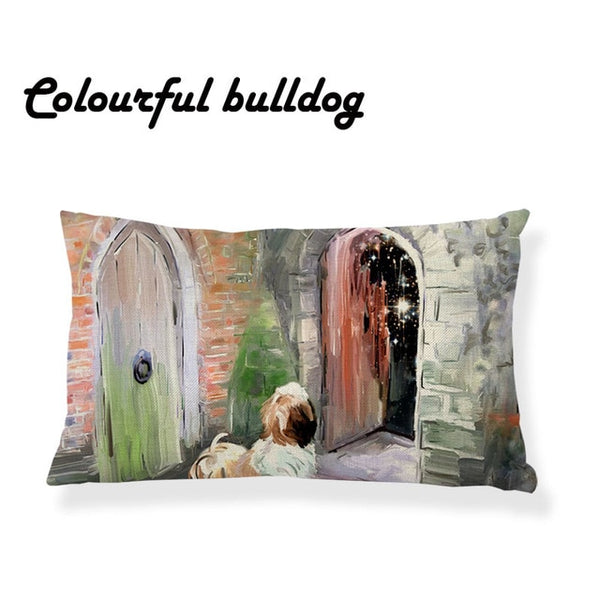 Shih Tzu PIllow Cushion Cover - Posh Puppies Boutique