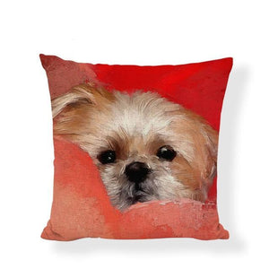 Shih Tzu PIllow Cushion Cover