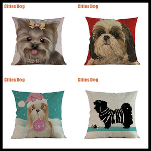 Shih Tzu Pillow Covers