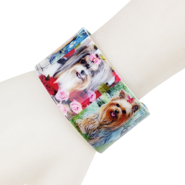 Shih Tzu Bangle Bracelet - Posh Puppies Boutique