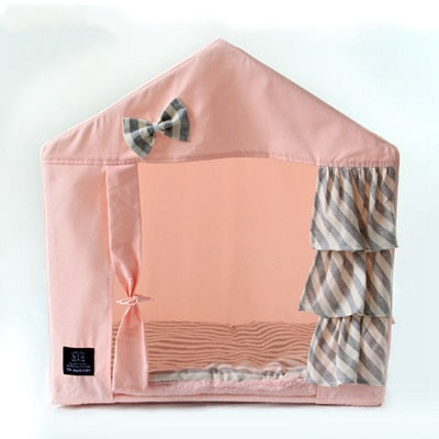 Princess Pretty Bow Dog House - Posh Puppies Boutique