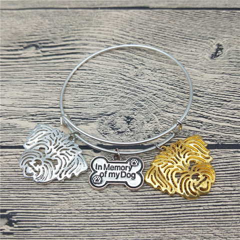 Shih Tzu Bangle Bracelets (6 Colors)
