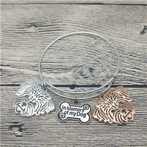 Shih Tzu Bangle Bracelets (6 Colors) - Posh Puppies Boutique