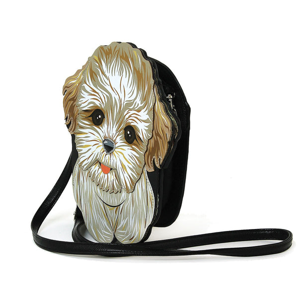 Lovely Shih Tzu Puppy Shoulder Crossbody Bag - Posh Puppies Boutique