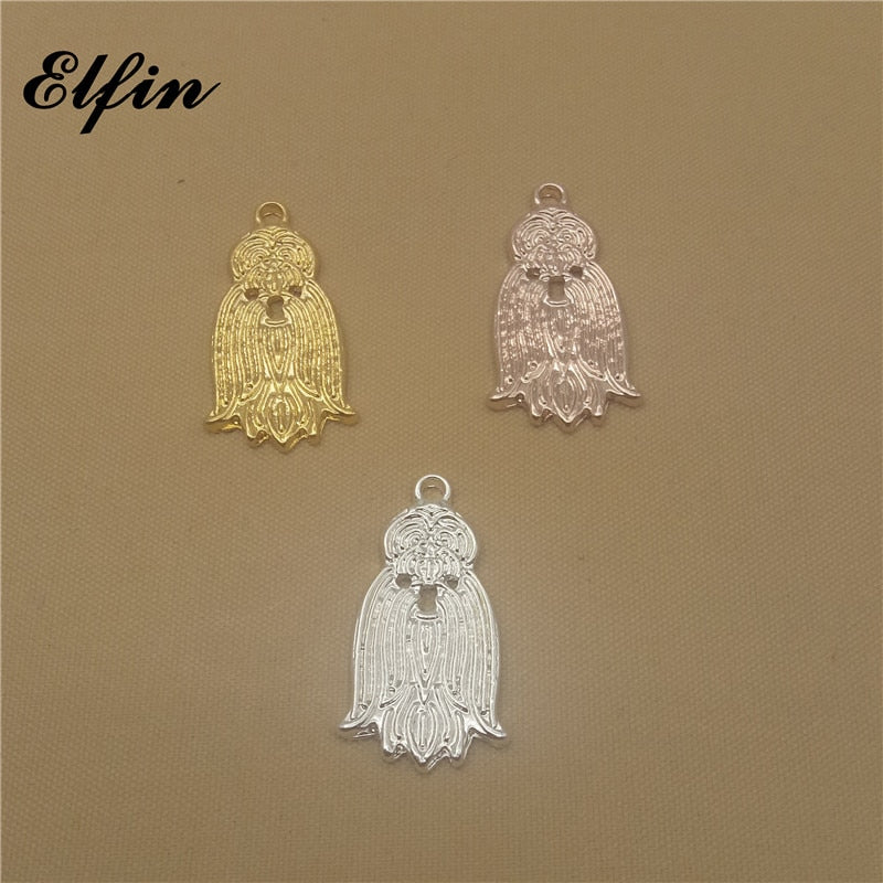 Shih Tzu Pendant (Choice of Color) - Posh Puppies Boutique