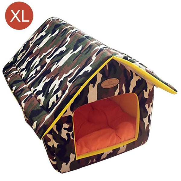 Fun Print Dog Bed House (5 Colors & Styles) - Posh Puppies Boutique