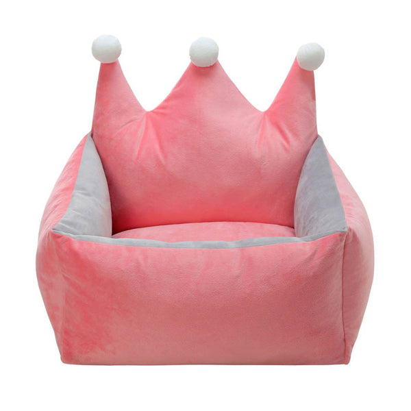 Adorable Crown Nest Dog Bed (3 Colors)