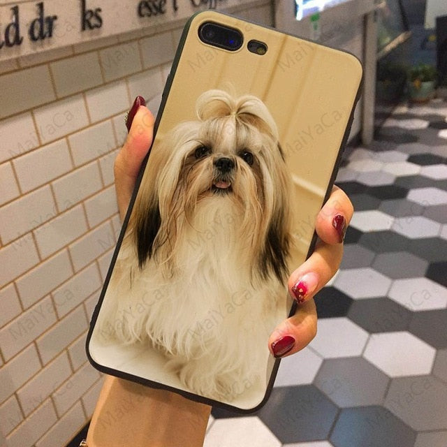 Adorable Shih Tzu Phone Case (5 Styles to Choose From) - Posh Puppies Boutique