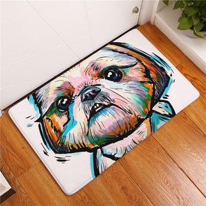 Cute Shih Tzu Rug - Posh Puppies Boutique
