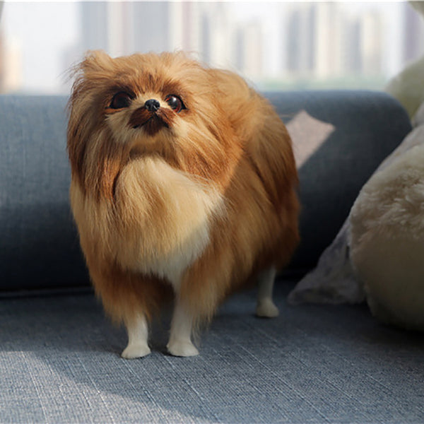 Cute Pomeranian Plush Doll - Posh Puppies Boutique