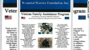 4 charged with using 'Wounded Warrior' name to raise over $150,000 for personal profit