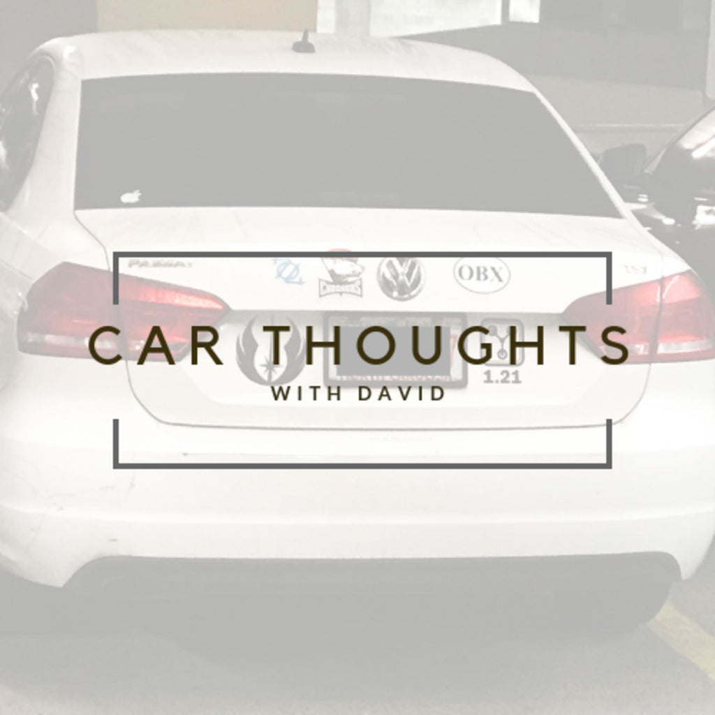 Podcast: Car Thoughts With David