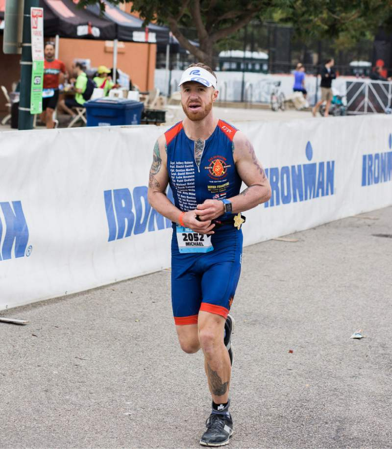 Tattered Beans Athlete Mike Ergo: Ironman 70.3 Santa Rosa, July 27th