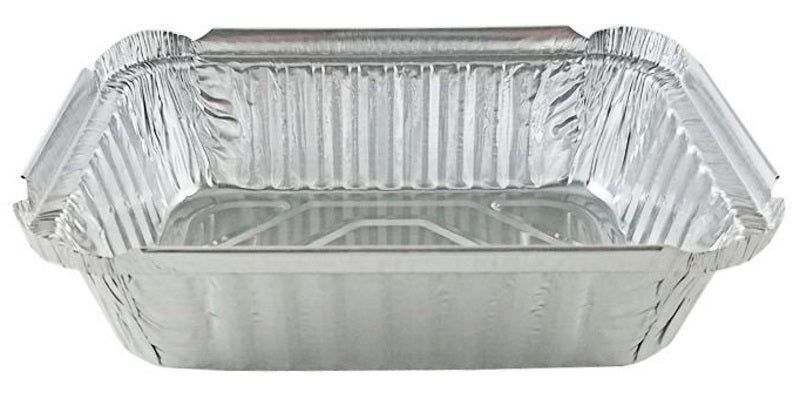 1 1/2 lb. Deep Oblong Foil Take-Out Pan