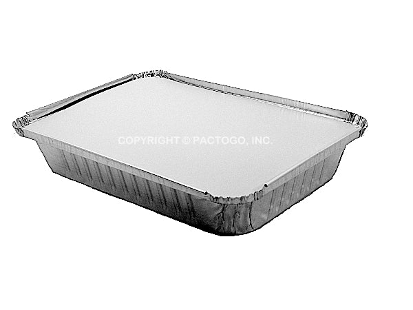 "Handi-Foil 8"" x 6"" Board Lid For Oblong Foil Pans 50/PK"