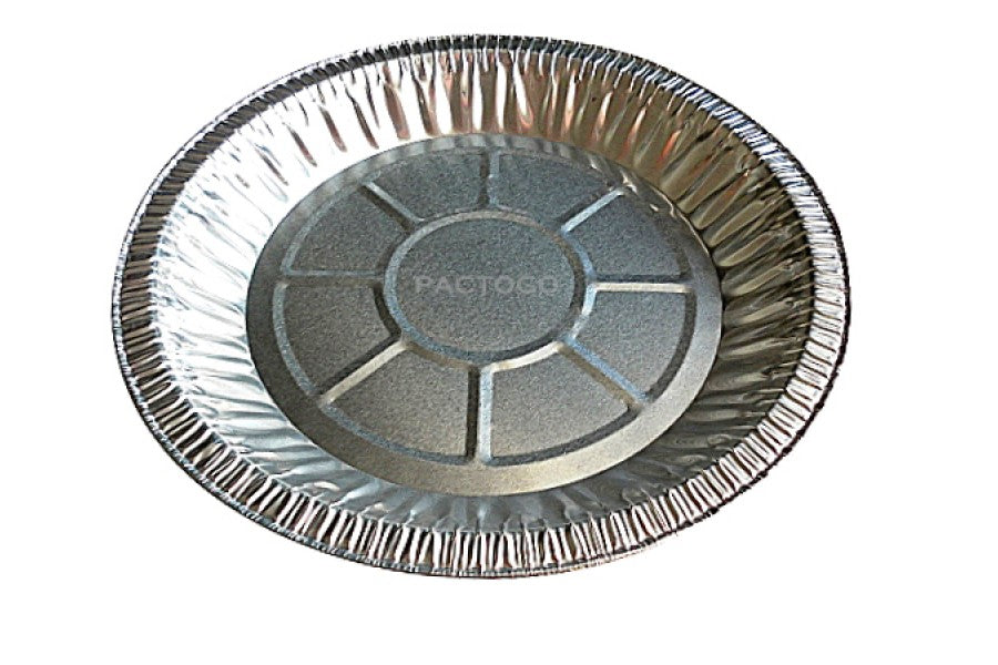 "10"" Foil Pie Pan 1 3/16"" Deep 50/PK"