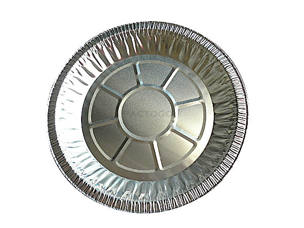 "10"" Foil Pie Pan 1-3/16"" Deep"