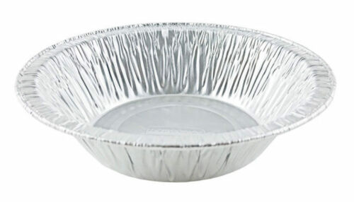"Durable 4 7/8"" Foil Tart Pan 1 1/4"" Deep 50/PK"