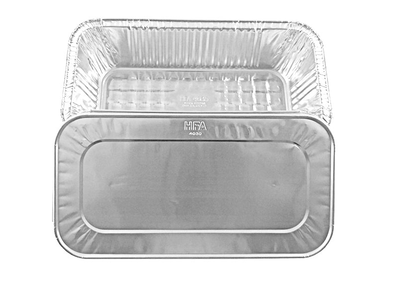 Handi-Foil TruFit™ 1/3 Size Steam Table Pan w/Lid