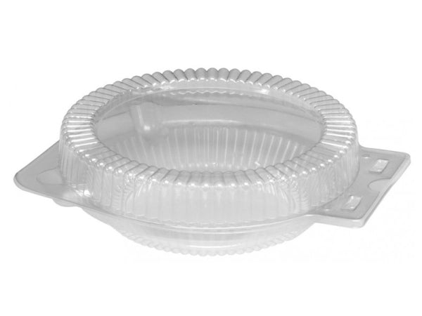 "Clear Clamshell for 8"" Foil Pie Pan Plates"
