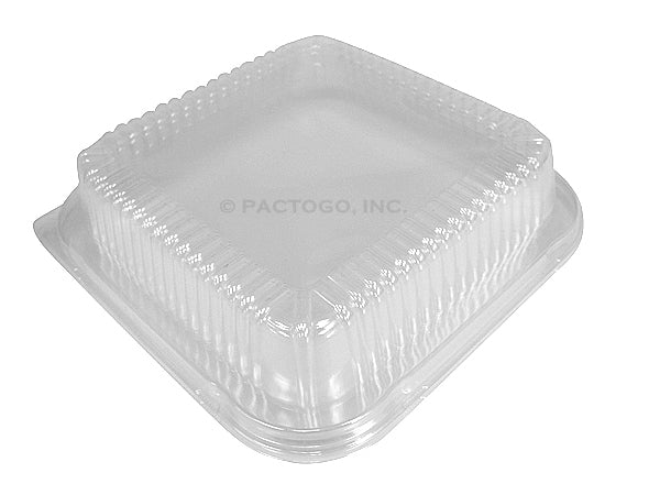 "Dome Lid For 9"" Square Cake Foil Pan"