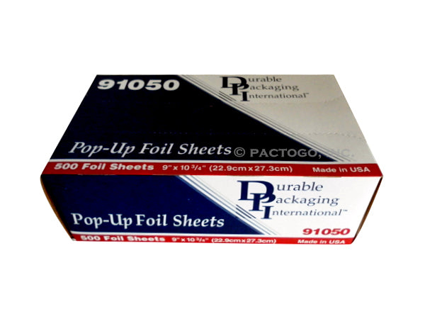 "Durable 9"" x 10.75"" Pop-Up Foil Sheets"