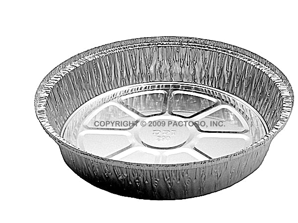 "9"" Round Foil Container"
