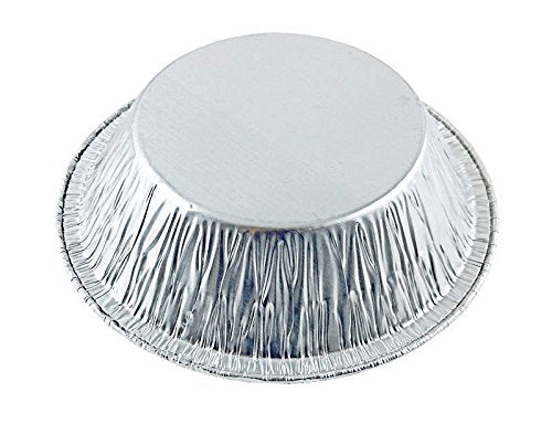"D&W Fine Pack B18 5"" Deep Foil Pot Pie Tart Pan 1 1/4"" Deep 125/PK"