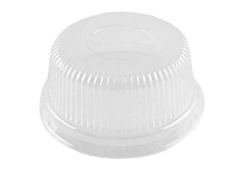 Clear Plastic High Dome Lid For 4 oz. Aluminum Foil Utility Cup 1000/CS