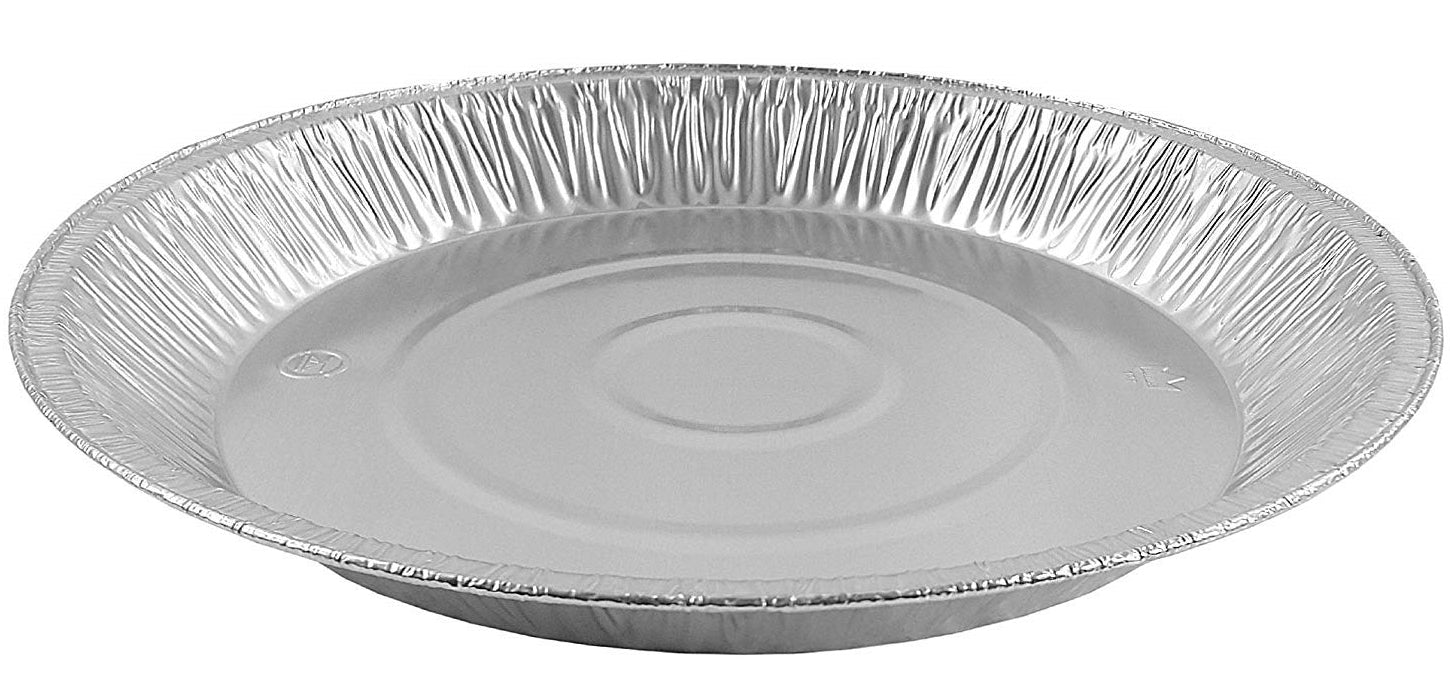 "D&W FIne Pack G78 12"" Extra-Deep Foil Pie Pan 1 11/32"" Deep 100/PK"