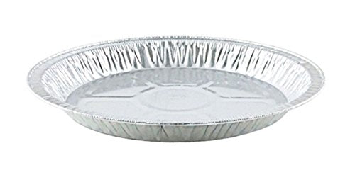 "Handi-Foil 10"" Medium Foil Pie Pan 1"" Deep 125/PK"