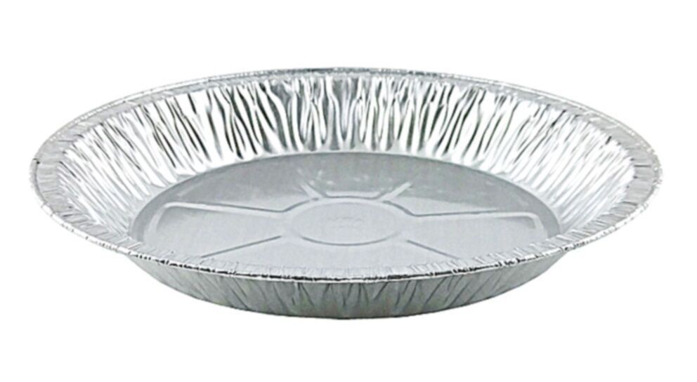 "Handi-Foil 11"" Extra Deep Foil Pie Pan 1 13/32"" Deep 500/CS"