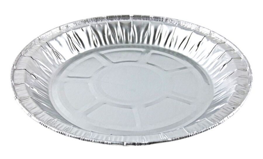 "Handi-Foil 8"" Medium Foil Pie Pan 27/32"" Deep 500/CS"