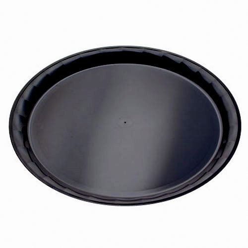 "12"" Black Catering Tray 25/CS"