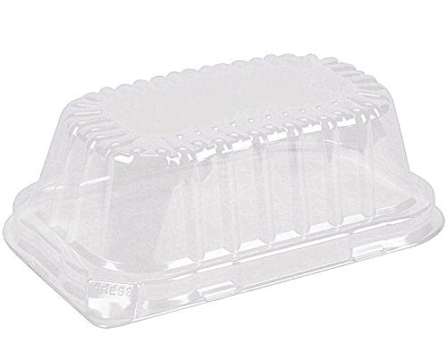 Durable High Dome Lid For 1 lb. Foil Loaf Pan 500/CS